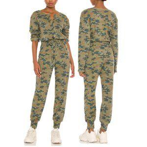 NWT Lovers + Friends Long Sleeve Henley Jumpsuit